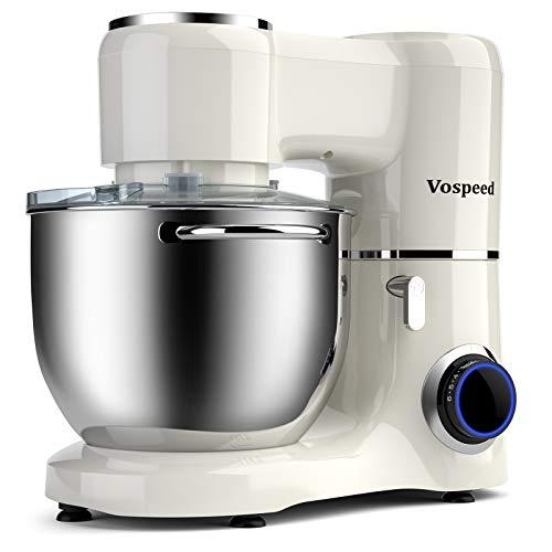 Impastatrice Planetaria 1500W 8Litri Vospeed Robot da Cucina con ciotola di acciaio...