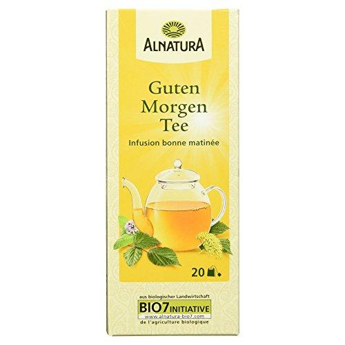 Alnatura Bio Guten Morgen Tee, 20 Beutel, 30g