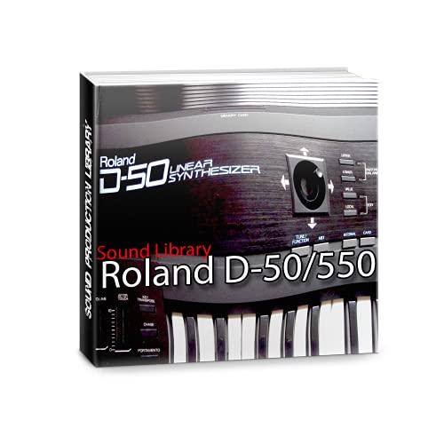para ROLAND D-50/550 enorme fábrica original y nueva biblioteca de sonido creada y editores en CD