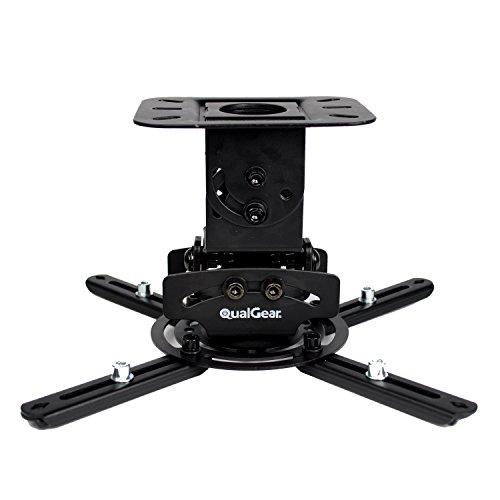 QualGear PRB-717-Blk Universal Ceiling Mount Projector Accessory,Black Mount