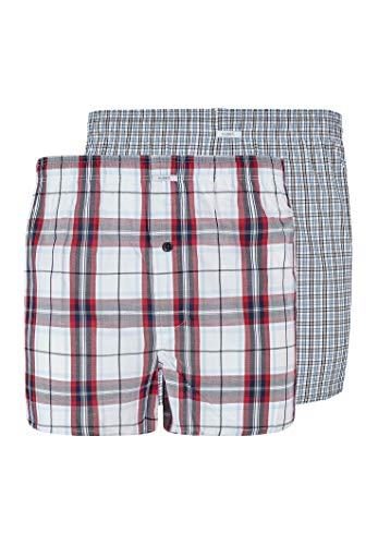 HUBER Herren Boxer Shorts 2er Pack Boxershorts, modern Set, XL