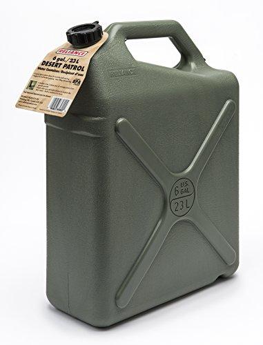 Desert Patrol 6 Gallon Rigid Water Container