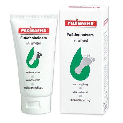 PediBaehr Fußdeobalsam mit Farnesol, bei Fußschweiß und Fußgeruch 75 ml