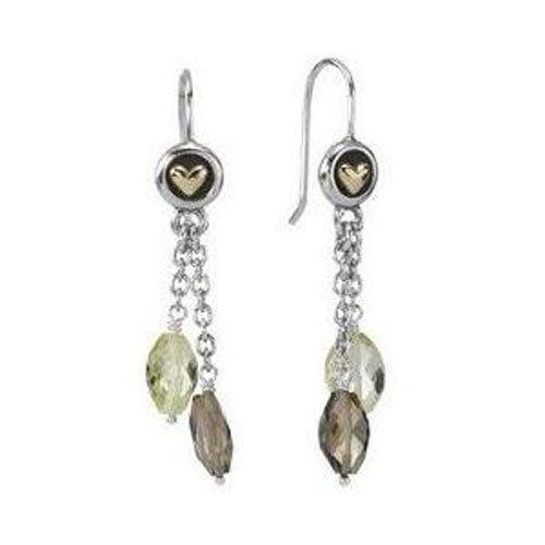 Pandora Women's Earrings Sterling Silver Hooks 29383LQ