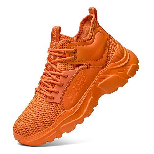 XIDISO Zapatillas de Deporte de Moda para Hombre Zapatos para Caminar Deportivas para Correr de Deporte Deportivas Transpirables