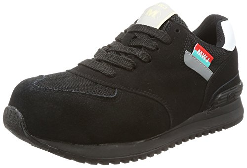 [ミドリ安全] 安全作業靴 JSAA認定 プロスニーカー MWJ110 A ブラック 25 cm 2E