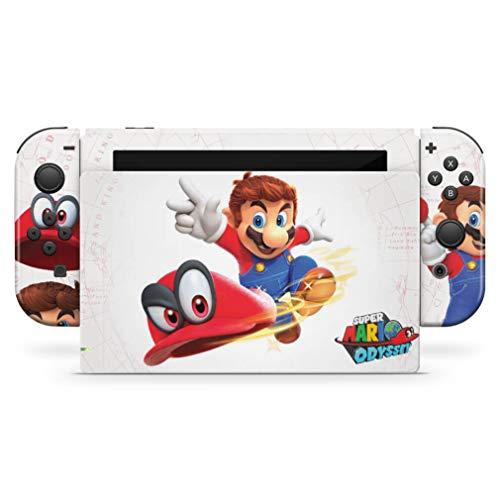 Skin Adesivo para Nintendo Switch - Super Mario Odyssey