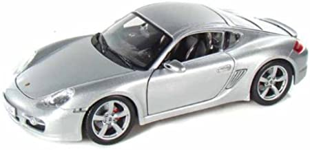 Porsche Cayman S 1/18 Silver by Collectable Diecast