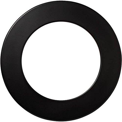Dartshopper Dart Catchring Dartboard Surround Auffangring Schwarz für alle Dartscheiben Wandschutz Einteilig