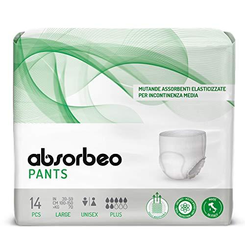 Absorbeo - Pants Plus - Mutande Assorbenti...