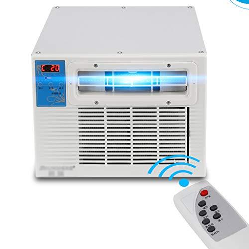 4 in 1 Portatile Mini condizionatore d'Aria mobili con zanzariera, Riscaldamento e Raffreddamento, Intelligente Inverter condizionatore deumidificatore, Telecomando Silenzioso Schermo a LED