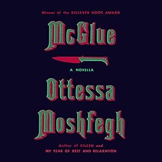 McGlue audiobook cover art