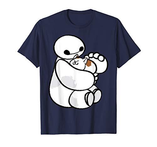 Disney Big Hero 6 Baymax Cat Cute Portrait T-Shirt