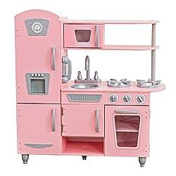 powerful Pink kidcraft vintage kitchen