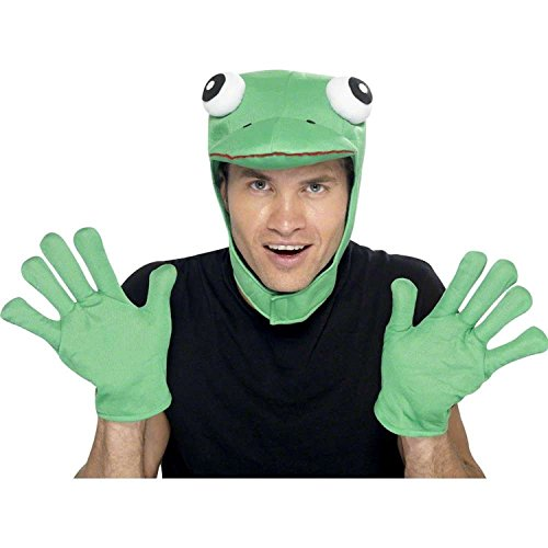 Smiffy's Mens Frog Kit Disguises - (Green)