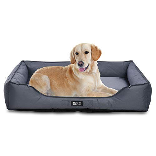 MATE FOR DOGS® Cama para perros en diferentes tamaños (XXL) – Lavable e impermeable – Cama para perros grandes perros perros perros cesta para perros mediana cesta para perros perros perros pequeños