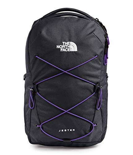 The North Face Women's Jester Backpack, Asphalt Grey/Peak Purple, One Size