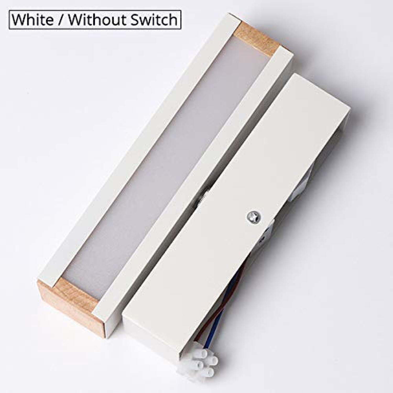 ATR Wandleuchte Schlafzimmer Wandleuchte 5 Watt LED Hotel Raumdekoration Beleuchtung Moderne Innen Wohnzimmer Lichtwinkel Rotation Verstellbare Wandleuchte (Farbe  Wei-Ohne Schalter)