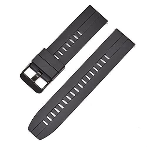 WNFYES 2mm suave silicona correa curvada codo reloj de reloj de relojes deportes y de goma universal de la banda de la pulsera de la pulsera de la banda de la pulsera de la correa de silicona Correa d