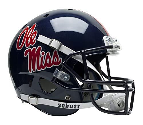 Schutt NCAA Ole Miss Rebels Replica XP Football Helmet, Classic