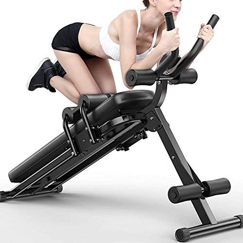 Massage-AED Máquina de Entrenamiento Abdominal Plegable Programa de los Abdominales Verticales, Resistente, Entrenador de Cintura
