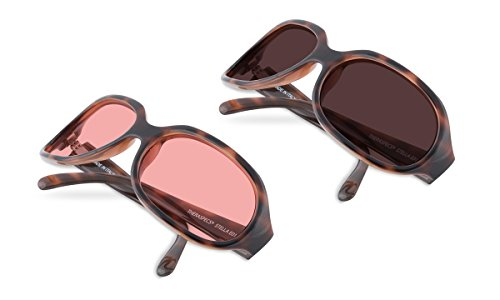 (Bundle) TheraSpecs Stella Blue Light Glasses for Migraine, Light Sensitivity