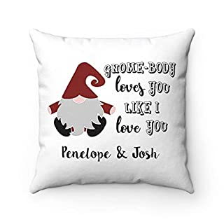Square Pillow Cushion Valentine Personalized