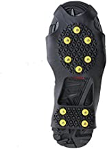 Non-slip Over Shoe, AGPtek Climbing Snow & Ice Cleats Grips Anti-Slip Studded Ice Traction Shoe Covers Spike Crampons Cleats Size S /M/ L/XL , Extra Large