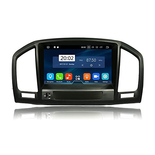 TAFFIO® Android 9 Autoradio Touchscreen 3D GPS Navi Bluetooth USB WiFi für Opel Insignia