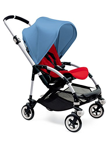 Fantastic Deal! Bugaboo Bee3 Complete with Aluminum Base and Red Seat
