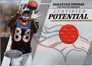 2010 Certified Certified Potential Materials #29 Demaryius Thomas Game-Worn Jersey Card Serial #'d/250