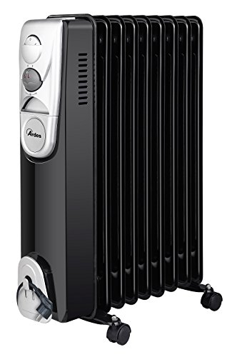 Ardes 4R09B - Calefactor Oil electric space heater