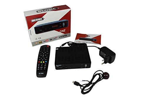 BLOMC ONE IPTV Setup Box voor Stalker en Xtreamcodes Portale (MAG254,256,322 Alternative) -zwart