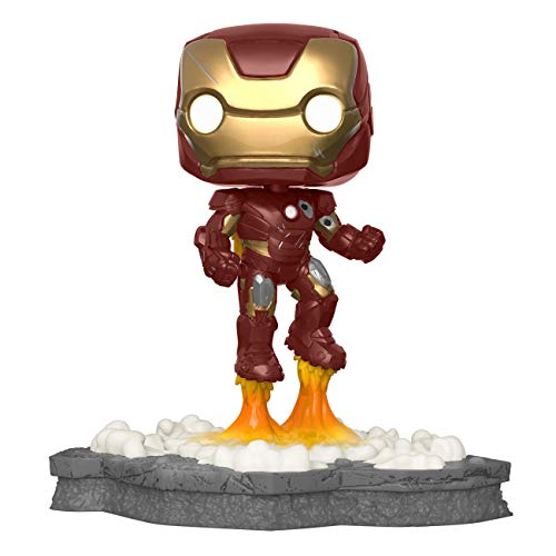 Funko 45610 Pop! Deluxe, Marvel: Avengers Assemble Series - Iron Man, Amazon Exclusive, Figure 1 of 6