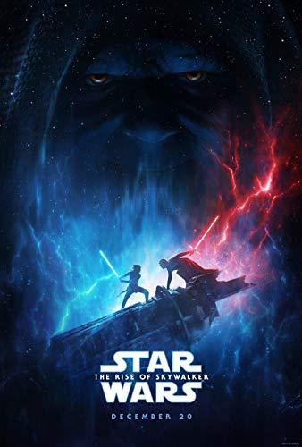 Juguetes Rompecabezas de Madera 1000 Piezas, Carteles de películas de Star Wars: The Rise of Skywalker,Puzzle Juguete Educativo,Regalos de Cumpleaños de Navidad para Niños
