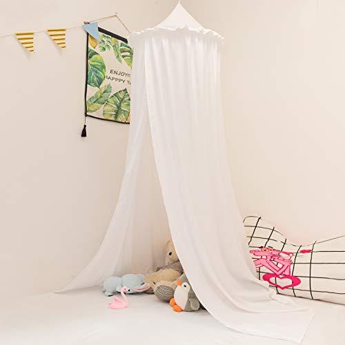Betthimmel baby bett Baldachin Moskiton für Schlafzimmer Moskitonetz Insektenschutz Kinder Prinzessin Spielzelte weiß
