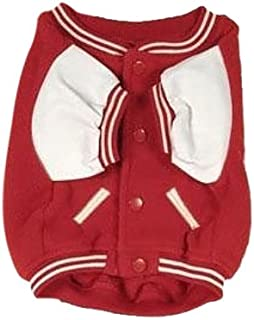 Sporty K9 Ohio State Varsity Dog Jacket, XX-Small