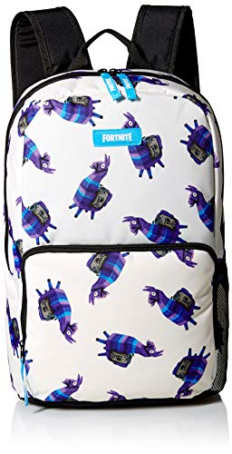 FORTNITE Kids' Little Amplify Backpack, Cream/Blue, Youth Size