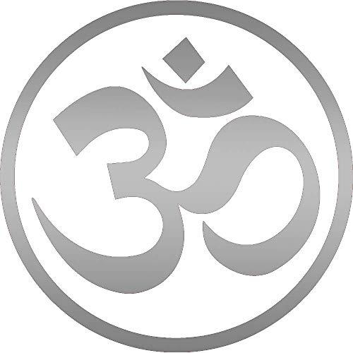 Pegatina Promotion Goa Logo Symbol om Aufkleber ca.20 cm Oilslick Folie Oil Slick Öl Effekt Autoaufkleber,Wandtattoo, Waschanlagenfest, Profi-Qualität, Decal,Sticker