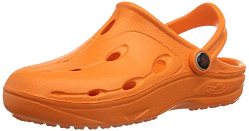 chung shi Jungen Unisex Kinder DUX KIDS Clogs, Orange, 26/27 EU