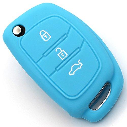 Caso Chiave in Silicone Cover per 3 Bottoni Auto Copertura di Protezione Keycase HYE