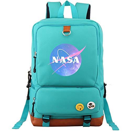 Miarui Mochila de la NASA Mochila Escolar Unisex Mochilas Escolares Bolsa de Viaje Mochila...