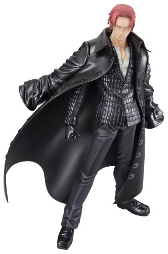 Megahouse - FIGMEG102 - Figurine - One Pièce - P.O.P Excellent Model Strong Edition - Haired Shanks - Red