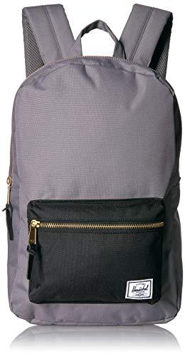 Herschel Settlement Backpack, Grey/Black, Mid-Volume 17.0L
