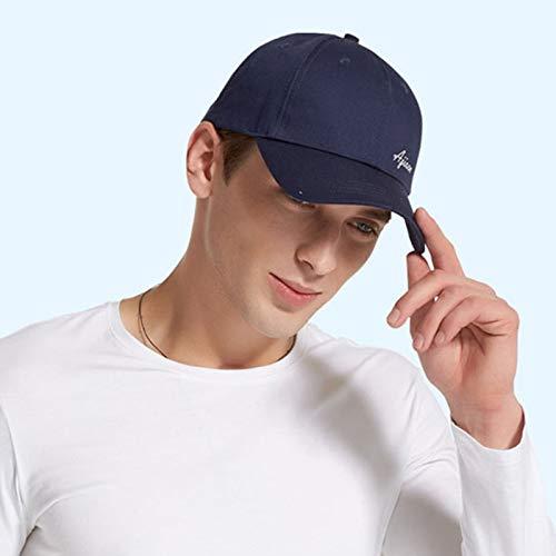 5G Schutzkappe für elektromagnetische Strahlung, WiFi, Mobiltelefon, Computer, TV, EMF, RFID-Abschirmung, Unisex-Baseballmütze,Blau