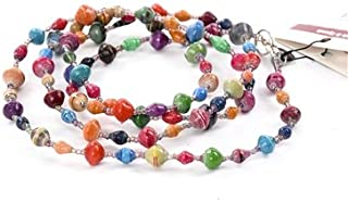 paper bead necklaces africa