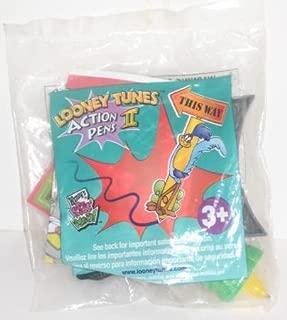 VINTAGE Warner Bros. LOONEY TUNES Action Pen - ROADRUNNER Wendy's Kids Meal Toy 2000
