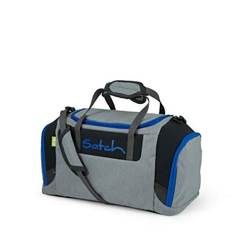 Satch Sporttasche Grey Ray, 25l, Schuhfach, gepolsterte Schultergurte, Grau