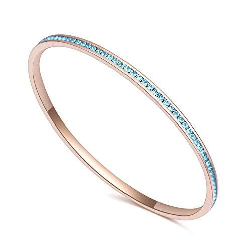 Armband Armbanden Link Armbanden Eenvoudige Armband Koper Sieraden Micro Zirkoon Enkele Ring Diamant Armband