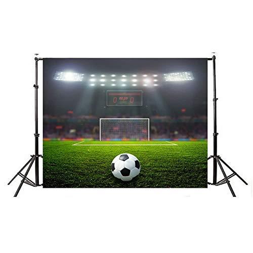Studio Fotografico Sfondo Fotografico Festa di Compleanno Album Personale Coppa del Mondo Calcio Manifesto per Bambini Prodotto # 350 (Color : Multi-Colored, Size : 210 * 150CM)